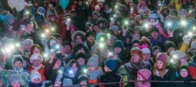 Petrozavodsk'ta buz festivali düzenlendi