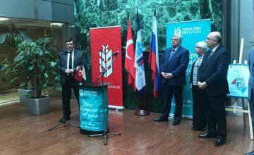 """Moskova'da """"Rus-Türk diplomatların gözüyle Rusya ve Türkiye fotoğraf sergisi"""" düzenlendi"""