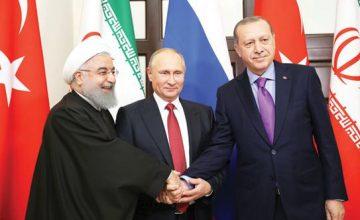 """""""Suriye"""" konulu Türkiye-Rusya-İran Üçlü Zirvesi başladı"""