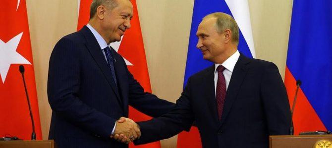 Soçi'deki, Putin-Erdoğan görüşmesi sona erdi