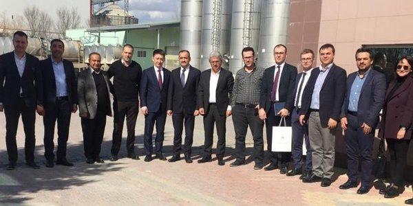Rusya Federasyonu Tataristan Cumhuriyeti Devlet Başkanı Rüstem Minnihanov'u temsilen diplomatik heyet Ereğli'de incelemelerde bulundu