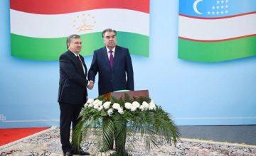 Özbekistan-Tacikistan arasındaki Batabağ sınır kapısı tekrar açıldı