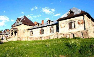 Kars'ta bulunan Tarihi Katerina Köşkü