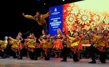 Rus Kızılordu Korosu İstanbul'da konser verdi