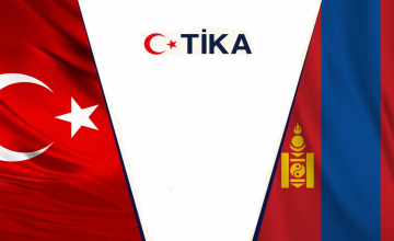 TİKA'dan Duha Türklerine gıda yardımı