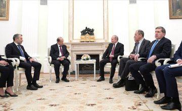 Rusya ve Lübnan liderlerinden ortak Suriye açıklaması