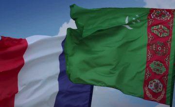 Türkmenistan ile Fransa arasında siyasi ve ekonomik işbirliği