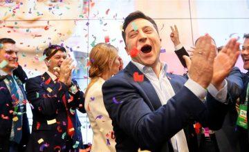 Ukrayna'nın yeni Cumhurbaşkanı Zelensky kimdir?