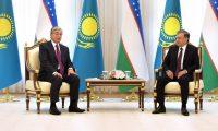 Kazakistan Cumhurbaşkanı Tokayev Özbekistan'da