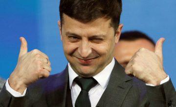 Ukrayna'nın renkli ismi Zelenskiy