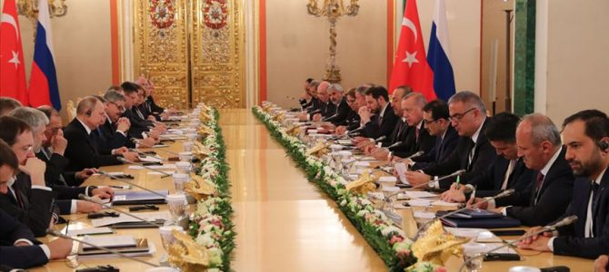 Erdoğan-Putin görüşmesi Rus medyasında geniş yer buldu