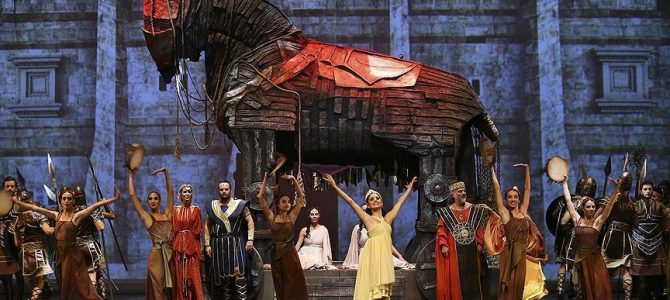 "Moskova'da ""Troya Operası"" sahnelendi"