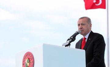 Cumhurbaşkanı Erdoğan: Bizim kızıl elmamız büyük ve güçlü Türkiye'nin inşasıdır