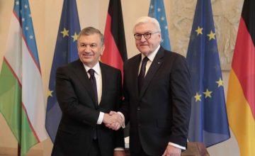 Almanya Cumhurbaşkanı Steinmeier Özbekistan'ı ziyaret etti