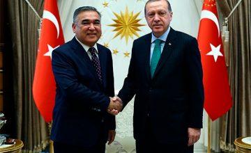 """Özbekistan'ın Ankara Büyükelçisi Alişer Azamhocayev: """"Özbek-Türk ilişkileri son iki yıl içerisinde yeni bir aşamaya taşınmış bulunuyor"""""""