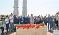 Özbekistan'da Kırım Tatar Sürgünü için anma töreni