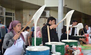 """Özbeklerin ramazan tatlısı """"Nişalda"""""""