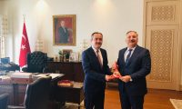 Prof. Dr. Salih Yılmaz, Türkiye Cumhurbaşkanlığı İdari İşler Başkanı Metin Kıratlı'yı ziyaret etti