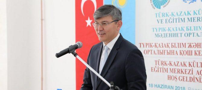 Kazakistan'ın Ankara Büyükelçisi Abzal Saparbekuly : Tokayev döneminde Türkiye-Kazakistan ilişkileri ivme kazanacaktır