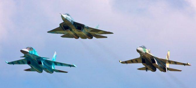 """Bir Su-35, beş F-35'e bedel"""