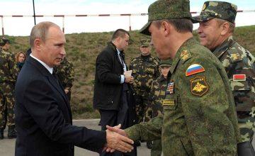 Rusya Devlet Başkanı Vladimir Putin, 3 generali görevden aldı