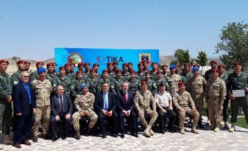 Türk uzmanlardan Özbek Muhafızlara eğitim