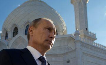 RusyaDevlet Başkanı Vladimir Putin,Rusya'da yaşayan Müslümanların Kurban Bayramını kutladı