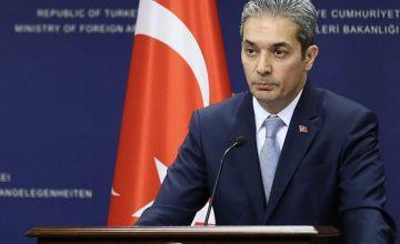 """Hami Aksoy: """"Bugün gerçekleştirilen esir değişimini memnuniyetle karşılıyoruz"""""""