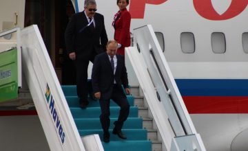 Putin, Beşinci Üçlü Zirve Toplantısı'na katılmak için Ankara'ya geldi
