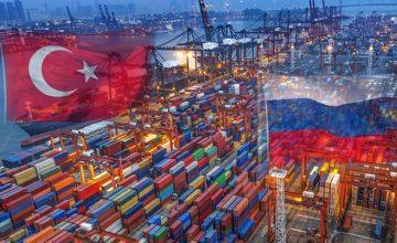 Türkiye'nin Ağustos ayında en fazla ithalat yaptığı ülke Rusya oldu
