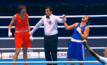 Busenaz Sürmeneli, Rusya'da altın madalya kazandı