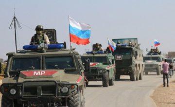 Rus askeri ve polisi devriyelerini sürdürüyor