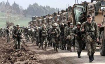 Barış Pınarı'nda, kara harekatı başladı
