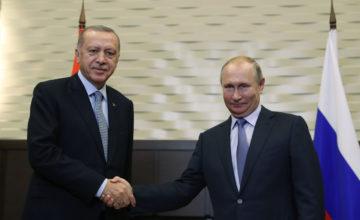 Erdoğan – Putin görüşmesi başladı