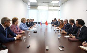 Valentina Matviyenko: Kimse Türkiye terörle mücadele etmiyor diyemez