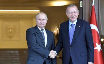 Putin, Erdoğan'ı önünüzdeki günlerde Rusya'ya davet etti