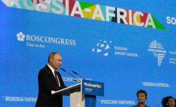 Soçi'de Afrika zirvesi