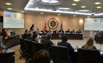 St.Petersburg-Türkiye iş forumunun 2020'de yapılması planlanıyor