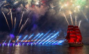 St. Petersburg'da, Işığın Mucizesi Festivali