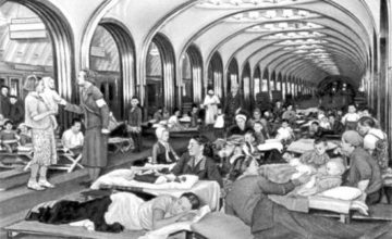 Büyük Vatanseverlik Savaşı'nda Moskova Metrosu'nda Ne Oldu?