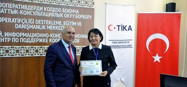 TİKA Kırgızistan'da Türkiye'nin kooperatifçilik alanındaki tecrübelerini paylaştı