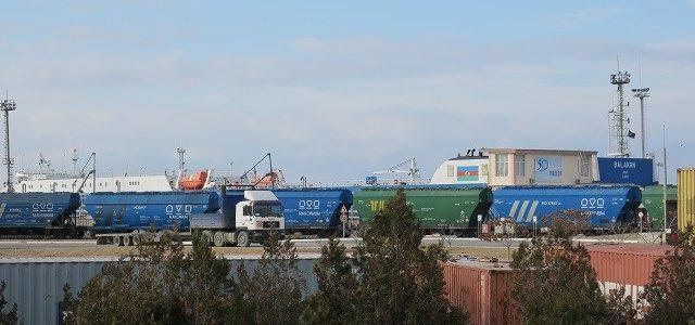 Kazakistan ile Türkiye arasındaki konteyner taşımacılığı yüzde 69 arttı