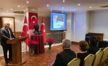 Mustafa Kemal Atatürk, Moskova'da anıldı