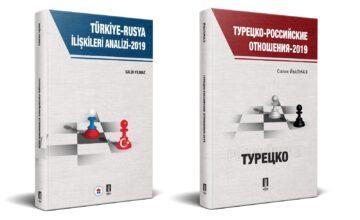 Rusya-Türkiye ilişkileri üzerine yeni kitaplar RUSEN'den çıktı