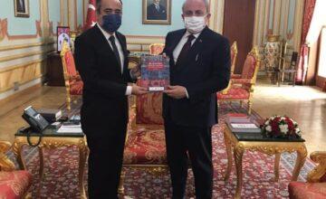 RUSEN Başkanı, TBMM Başkanını ziyaret etti.