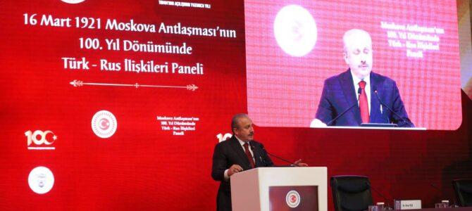 """TBMM'de Moskova Antlaşması'nın 100. yıldönümünde """"Türk-Rus İlişkileri Paneli"""" düzenlendi"""