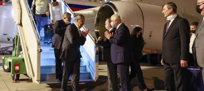 Rusya Dışişleri Bakanı Sergey Lavrov, Antalya'ya geldi