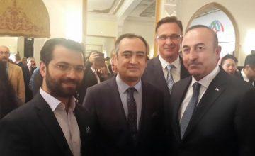 RUSEN, Türkiye'nin Kardeş Ülkeleri Tanımasının 25. Yıl Dönümü Resepsiyonunda