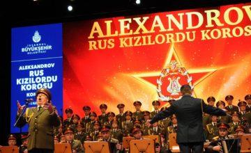 Rus Kızıl Ordu Korosu 12-13 Mart'ta Congresium Ankara'da sahne alacak